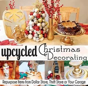 Upcycled Christmas Decorating - SohoSonnet Creative Living