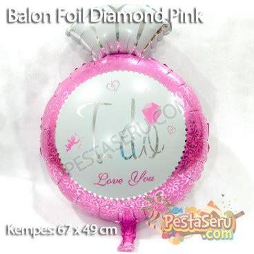 balon foil cincin i do uk mini balon foil i do pink pestaseru toko grosir