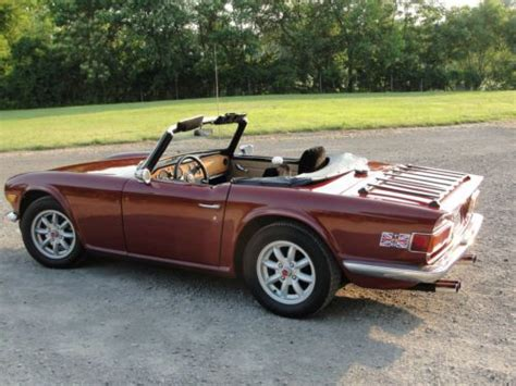 Sell Used 1971 Triumph Tr6 With Overdrive/tvr/group44