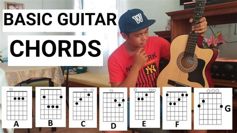 But very few of them take into account the key of the original song, which can be misleading if you try to play it on guitar. Basic Guitar Chords in TAGALOG - YouTube