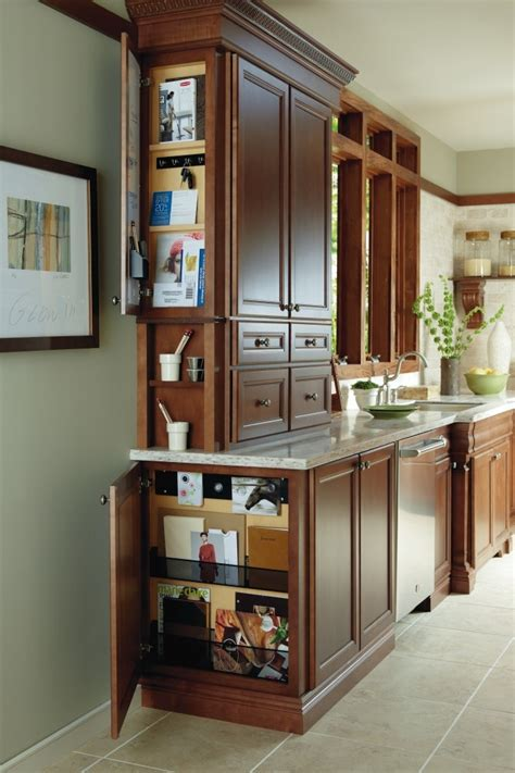 kitchen message center ideas organize you kitchen with a wall and base message center by thomasville cabinetry thomasville