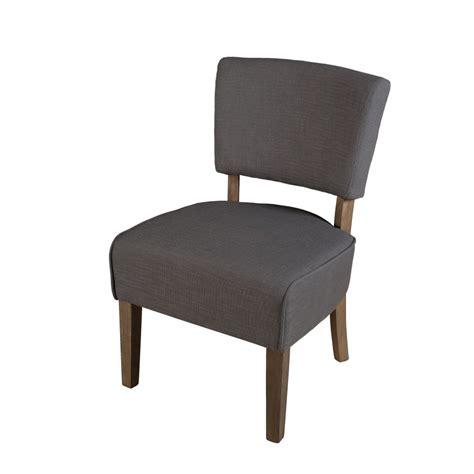 chaise grise tissu chaise basse tissu couleur grise meubles macabane