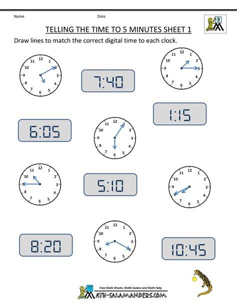 grade math minute worksheets firstgrade
