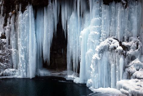 Frozen Waterfall Free Stock Photo  Public Domain Pictures