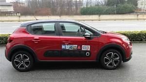 New C3 12 Pure Tech 82 Cv Feel Rosso Rubino Tetto Nero Km