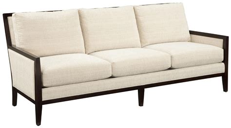 Contemporary Sofa Company by Fairfield Sofa Accents Contemporary Styled Sofa With