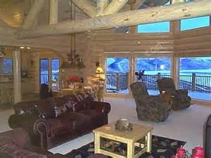 beautiful log home interiors highland custom log home builders custom log homes and cabins picture gallery