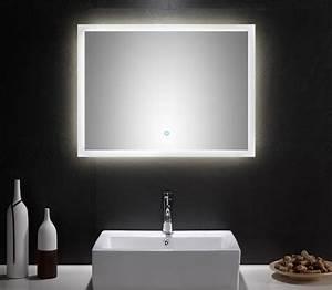 Spiegel 80 X 60 : spiegel touch led 80 x 60 cm ~ Buech-reservation.com Haus und Dekorationen