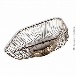 Corbeille à Pain Design : corbeille design en m tal argent vintage ~ Teatrodelosmanantiales.com Idées de Décoration