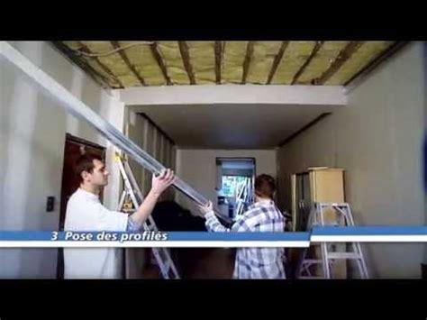 suspendre un plafond metal stud