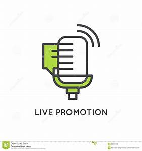 Illustration Of Live Event Marketing And Promotion Process ...