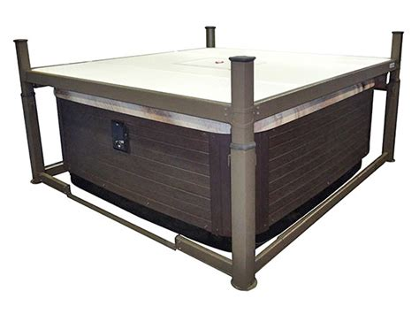 Covana Evolution Automated Hot Tub Cover Crown Spas Pools