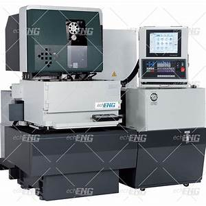 Wire Electrical Discharge Machine - Ef 500 - Echoeng