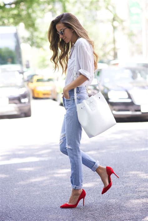 Best 25+ Red heels outfit ideas on Pinterest | Red pumps outfit Red shoes outfit and Outfits ...