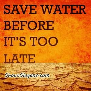Save water poster image | Environmental Slogans ...