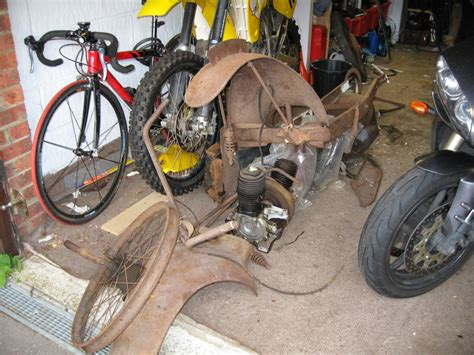 motocross bike parts 1921 ner a car motorcycle reborn with epic parts