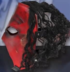 WWE Kane Mask with Hair
