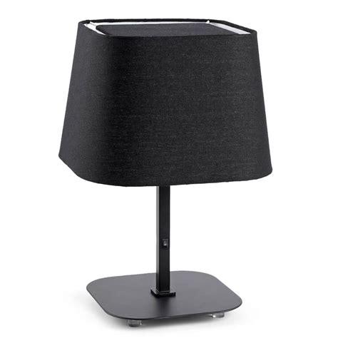 Lampe De Chevet Noire Pour Chambre D'hôtel Ou La Maison