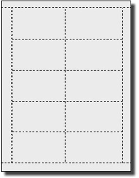 Avery 5371 Template For Word by 200 Business Cards For Laser And Inkjet Print Both Sides