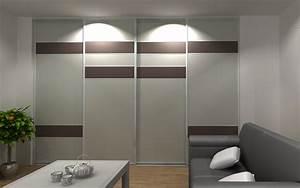 Porte Coulissante Miroir Sur Mesure : charmant porte coulissante placard miroir 6 porte de ~ Premium-room.com Idées de Décoration