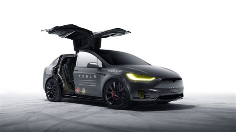 Model X Tesla Motors Wallpaper