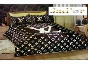 Parure lit versace for Chambre a coucher adulte avec housse de couette louis vuitton