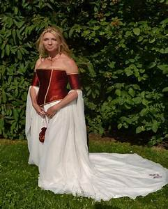 dragenfly embroidery renaissance burgundy satin corset With medieval corset wedding dresses