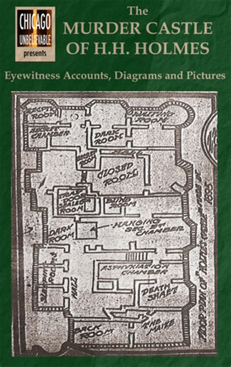 murder castle  hh holmes eyewitness accounts diagrams  pictures  william griffith
