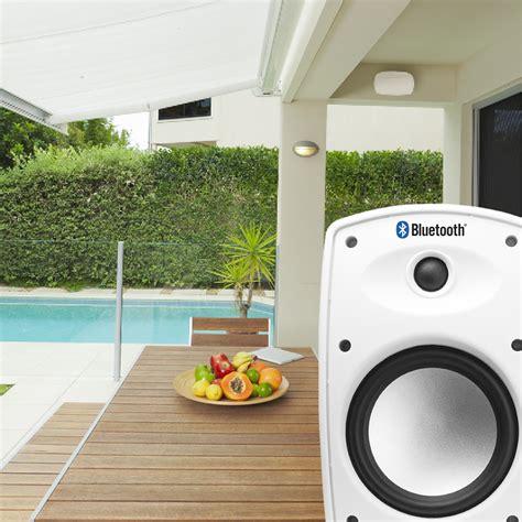 Outdoor Speaker Cabinet by Btp650 Wireless 6 5 Quot Bluetooth 2 Way Outdoor Patio Speaker
