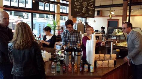 Mandarin oriental, washington dc, washington dc: Coffee Shops: Oregon, Case Study Coffee, Portland (Alberta St. Location).The 12-foot chandelier ...