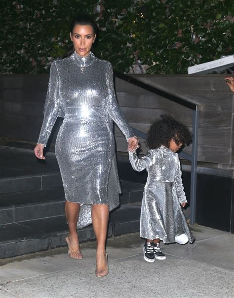 North West Photos Photos - Kim Kardashians u0026 North West Wear Matching Outfits While Heading To A ...