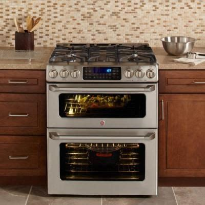 double oven stove ideas  pinterest double