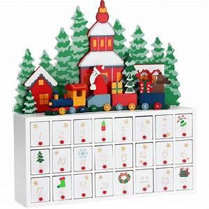 Weihnachtskalender Zum Befüllen : adventskalender selbst bef llen landschaft weihnachten zug holz advent kalender ebay ~ A.2002-acura-tl-radio.info Haus und Dekorationen