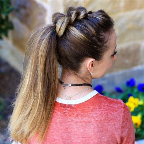 awesome ideas for pull through braids hairstyles 2017
