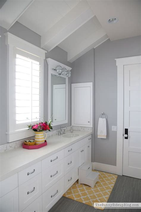 What Color To Paint My Bathroom by My Favorite Gray Paint And All Paint Colors Throughout