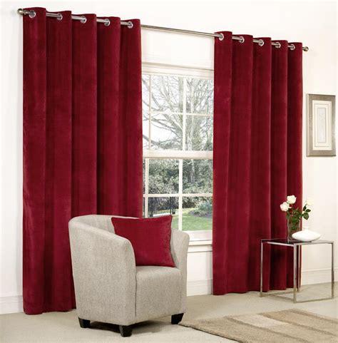 velvet ringtop lined window door curtains brown grey