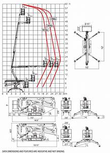 60 Foot Tracked Lift U2013spider 18 90  U2013 Equipment Rental
