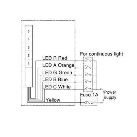 30mm signal light tower led signal tower light