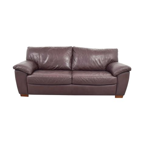 Sofa Ikea Leder by 87 Ikea Ikea Vreta Brown Leather Two Cushion Sofa