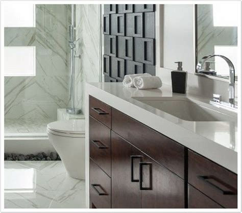 Arctic White MSI Quartz   Denver Shower Doors & Denver