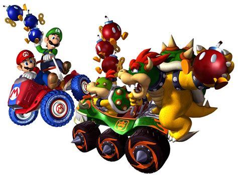 Mario Kart Double Dash Gamecube Artwork