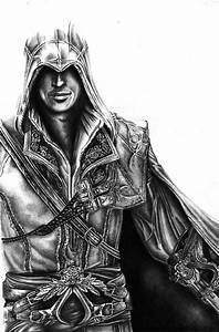 Ezio - Assassins Creed by AlexMahone on DeviantArt