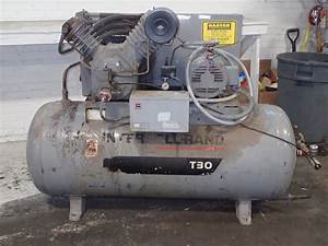 Ingersoll Rand T30  2545e10 Air Compressor 10 Hp