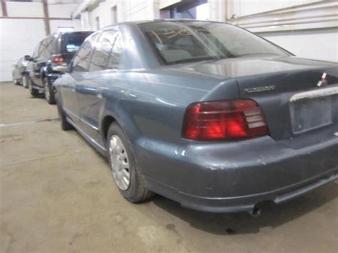 Mitsubishi Galant 2001 Parts by Parting Out 2000 Mitsubishi Galant Stock 130065 Tom