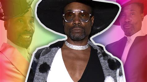 Billy Porter Takes London Fashion Week Storm With