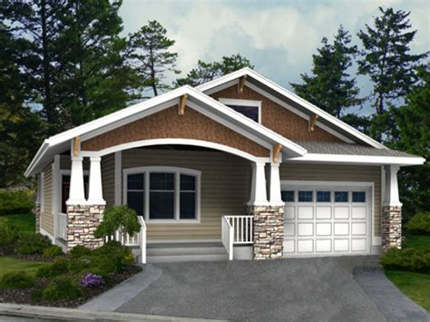 Single Level Home Designs by Craftsman House Plans One Level Homes Best Craftsman House