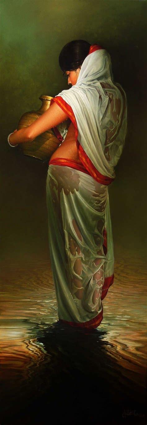 Amit Bhar Art Indian Paintings India