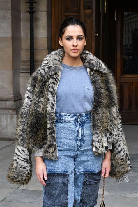 NAOMI SCOTT at Stella McCartney Show at Paris Fashion Week ...