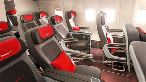 außen und innen austrian airlines bietet ab sofort auf allen langstrecken eine premium economy class fcam