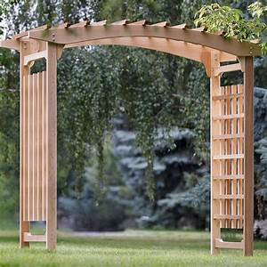 5 ways to decorate a wedding arbor for Decorating a trellis for a wedding